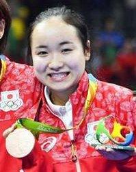 伊藤美誠 リオオリンピック 銅メダル