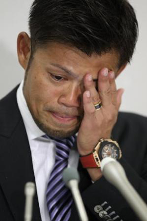 今江敏晃の涙のFA宣言