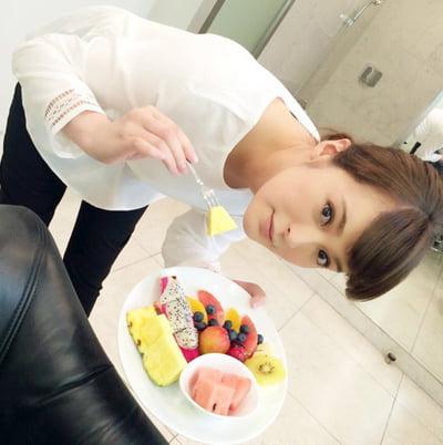 貫地谷しほりのダイエット法
