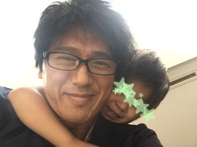 高橋克典と息子の写真