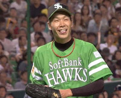 武田翔太の笑顔