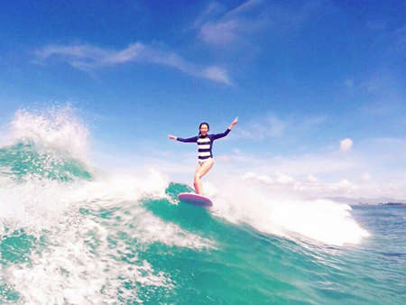 SHIHOのサーフィン画像