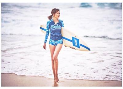 SHIHOの趣味はサーフィン