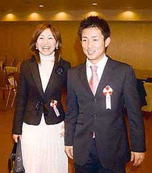 梵英心の妻・佐智子