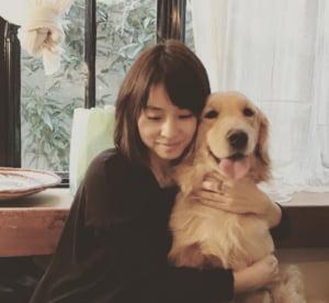 石田ゆり子と愛犬