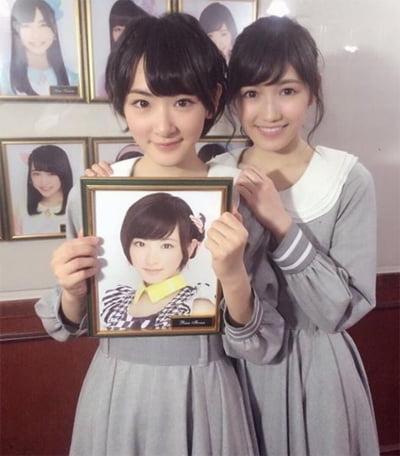 生駒里奈と渡辺麻友