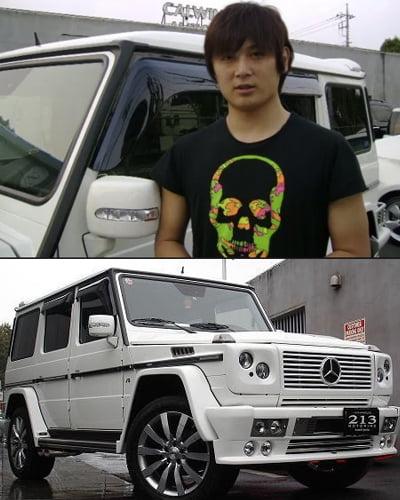 涌井秀章の愛車