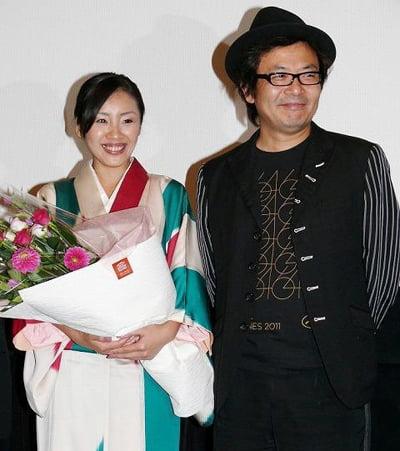 園子温と神楽坂恵が結婚
