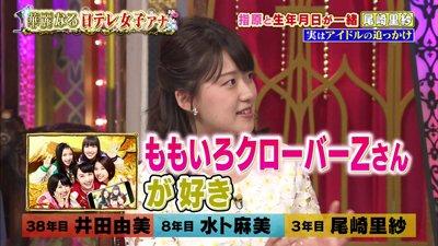 尾崎里紗はももクロのファン